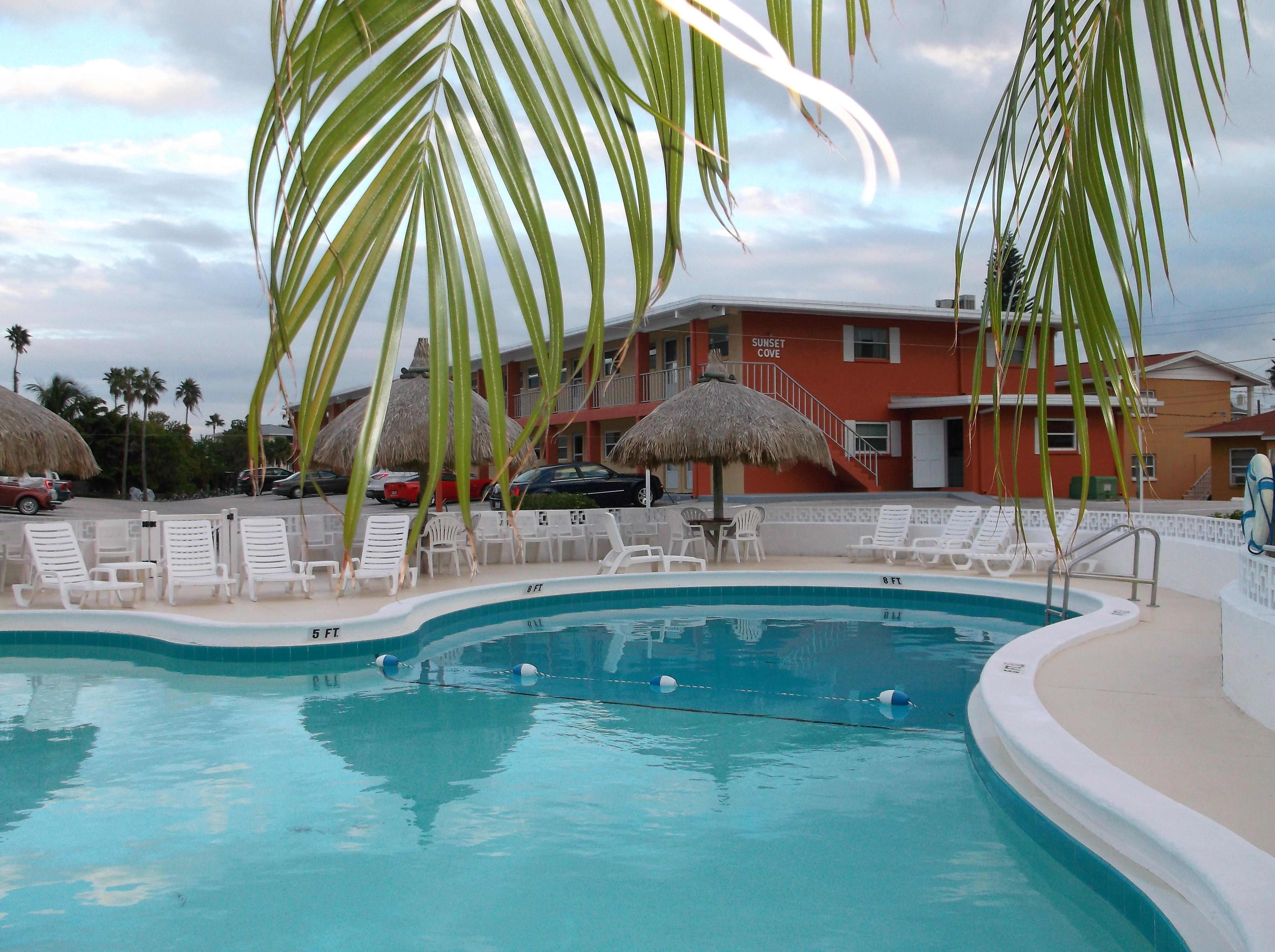 Sunset Beach Condos On Beautiful Treasure Island Florida